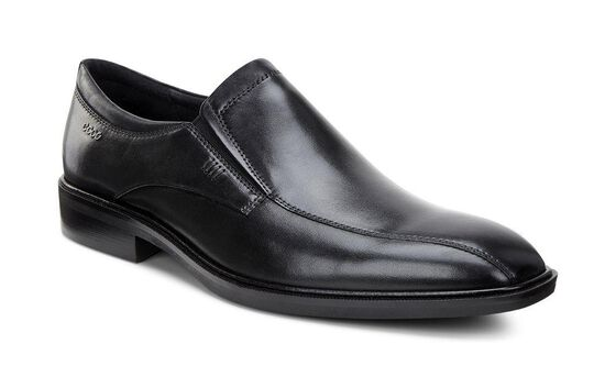 Slip-on à bout vélo ECCO Illinois (BLACK)