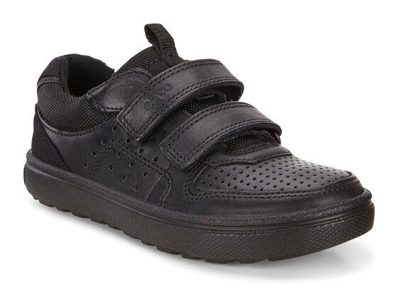 ECCO Glyder Strap Sneaker (BLACK)