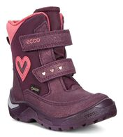 ECCO Snowride Boot (NIGHT SHADE-BAROLO/MAUVE/ROSATO)