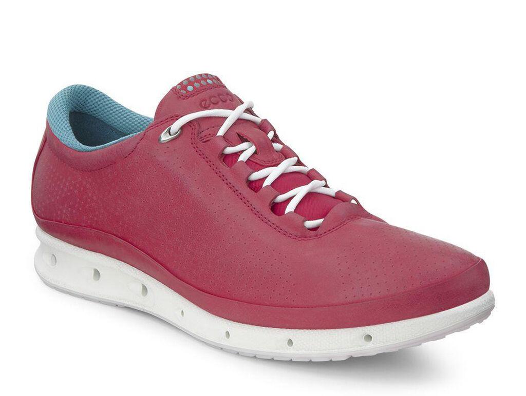 Ecco Biom Red Womens Walking Shoes