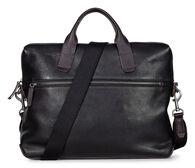 ECCO Ioma Slim Briefcase (BLACK)