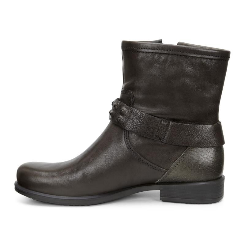 ... ECCO Touch 25 Buckle BootECCO Touch 25 Buckle Boot TARMAC/TARMAC  (55894) ...