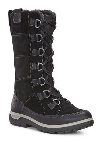 ECCO Womens Gora Tall BootECCO Womens Gora Tall Boot in BLACK/BLACK (51052)