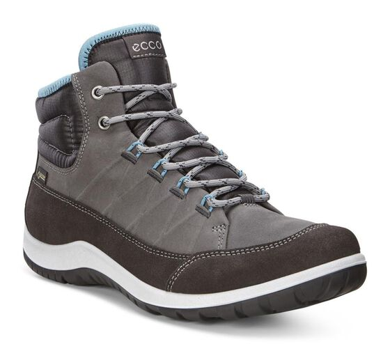 Chaussure montante ECCO Aspina GTX pour femmes (MOONLESS/DARK SHADOW)