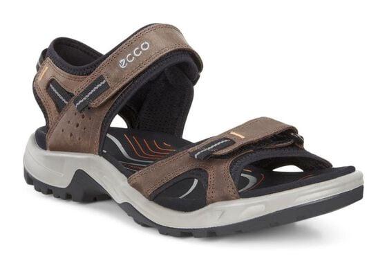 ECCO Mens Yucatan II Sandal (ESPRESSO)