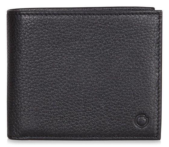 ECCO Jos Flap Wallet (BLACK)