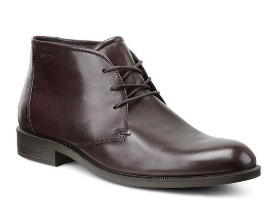 ECCO Harold Plain Toe BootECCO Harold Plain Toe Boot in RUST (01060)