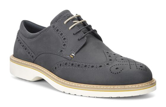 Chaussure lacée ECCO Ian à bout golf (MARINE)