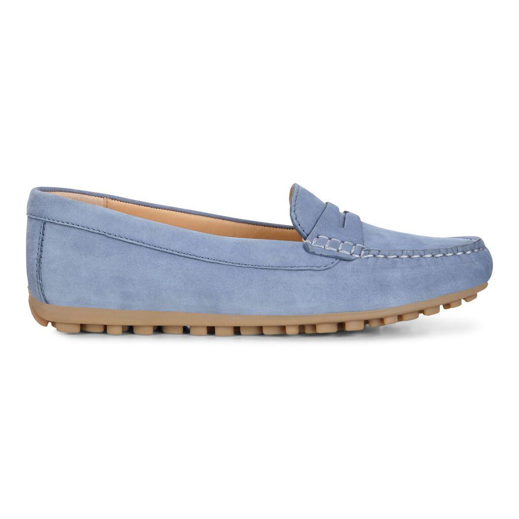 57f585a3e58 ... ECCO Devine Moc Penny LoaferECCO Devine Moc Penny Loafer RETRO BLUE  (02471) ...