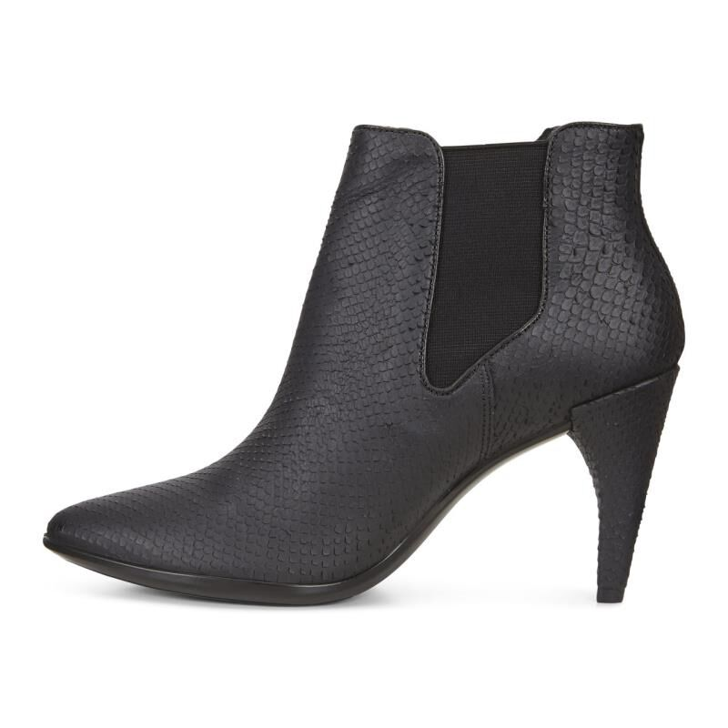 ... ECCO Shape 75 Ankle BootECCO Shape 75 Ankle Boot BLACK (01001) ...