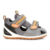 ECCO BIOM Lite Infants SandalECCO BIOM Lite Infants Sandal in TITANIUM/DARK SHADOW (57486)