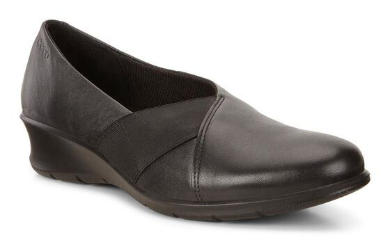ECCO Felicia Slip On (BLACK)