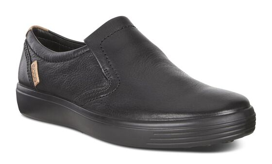 Slip-on ECCO Soft 7 pour homme (BLACK)
