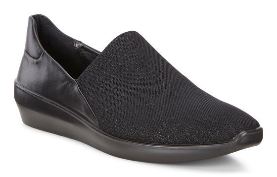 Slip On citadin ECCO Incise (BLACK/BLACK)