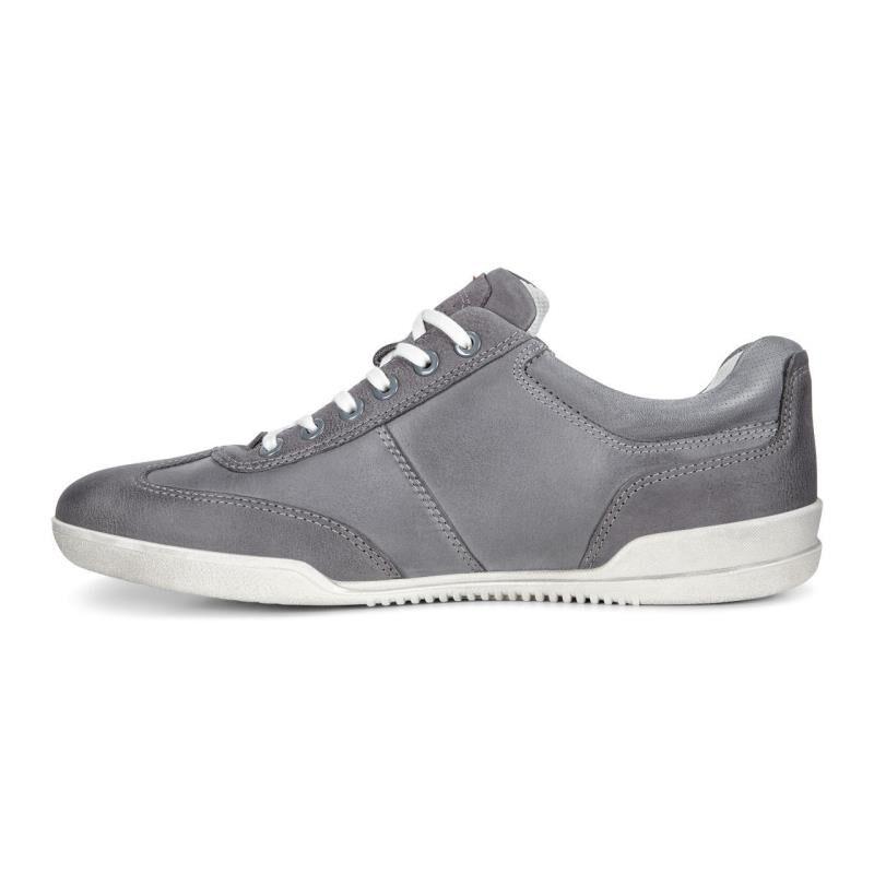 ... ECCO Enrico Retro SneakerECCO Enrico Retro Sneaker MOONLESS/TITANIUM  (55880) ...