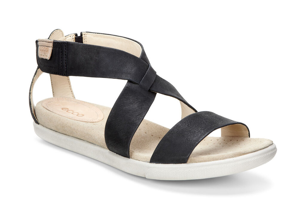 a8af1a70b09 ECCO Damara Strap SandalECCO Damara Strap Sandal BLACK (02001) ...