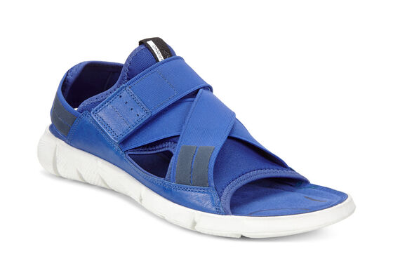ECCO Womens Intrinsic SandalECCO Womens Intrinsic Sandal MAZARINE BLUE/MAZARINE BLUE (55694)