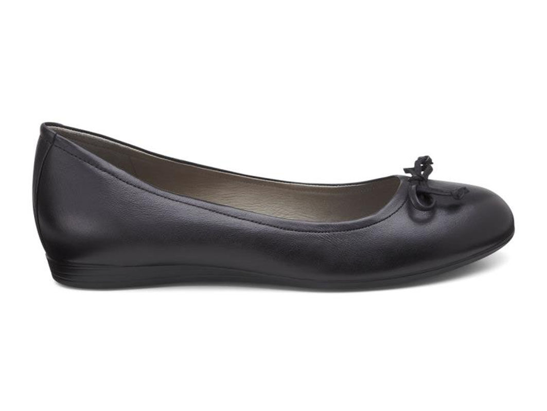 ... ECCO Touch 15 Bow BallerinaECCO Touch 15 Bow Ballerina BLACK (01001) ...