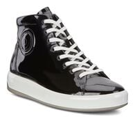 ECCO Womens Soft 9 High Top (BLACK)