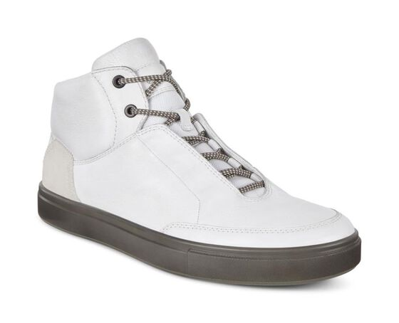 Chaussure montante ECCO Kyle StreetChaussure montante ECCO Kyle Street WHITE/SHADOW WHITE (52292)