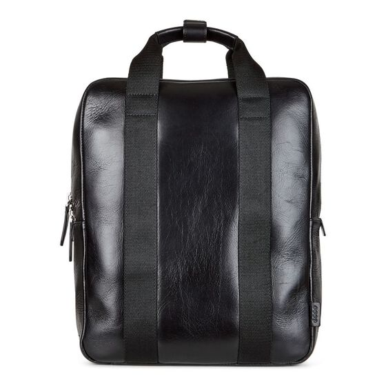 ECCO Eday L Medium Backpack (BLACK)