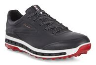 ECCO Mens Golf Cool Pro (BLACK/BRICK)