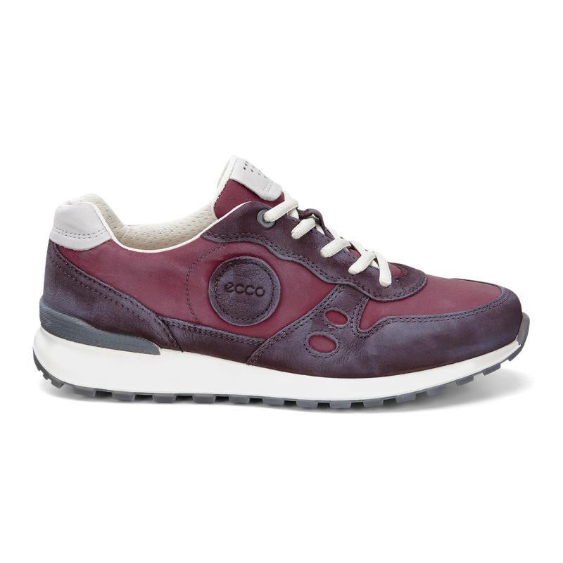 ... ECCO CS14 Retro SneakerECCO CS14 Retro Sneaker BORDEAUX/GRAVEL (59309)  ...