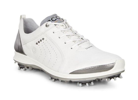 ECCO Womens BIOM G2 Free (WHITE/BUFFED SILVER)