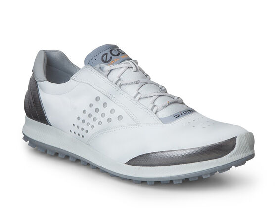 ECCO Womens BIOM Hybrid 2 (WHITE/BUFFED SILVER)